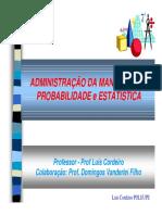 ADMAN Estatistica LCBF DVFppt