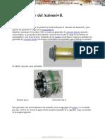 Manual Generador Automovil Arranque Motor Sistemas Electricos Encendido Componentes Funcionamiento