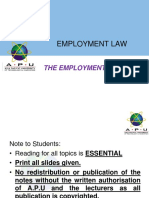 Chapter Three -The Employment Contract- Student_s Copy