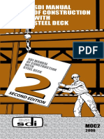 Sdi Manual Construction With Steel Deck