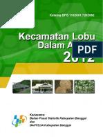 Kecamatan Lobu Dalam Angka 2012
