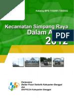 Kecamatan Simpang Raya 2012