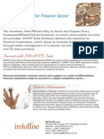 Smart Suite Finance Sector for Infoline
