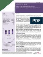Brief Report 28-July-2014 - HCAR 1QFY15