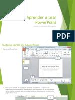 Aprender a Usar PowerPoint