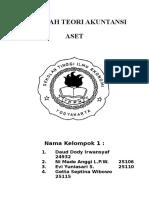 makalah teori akuntansi ASET