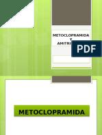 Metoclopramida y Amitriptilina