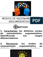 Modos de Razonamiento y Evaluación Falacias