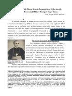 Episcopul Marton Aron in Documentele Serviciilor Secrete