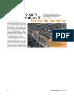 CONSTRUÇÃO - Contenção Com Fôrmas Metálicas X Fôrma de Madeira