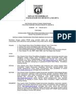 Instruksi Kadisdik Ttg Data Pendidikan Dan Sosialisasi PPDB 2015