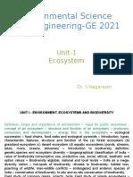 Chapter I Ecosystem