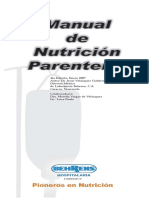 Manual Nutrición Parenteral