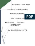 Tuberculosis Escrito