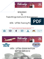 IATA UFTAA Career Course