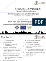 CIUS Presentation- HRBSP Conference -Urbanisation in Cambodia