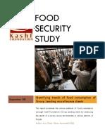 Food Security Study_Kashf Foundation_Sept 2008_Aziz Omar