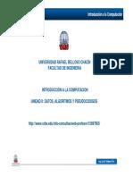 UnidadII-Datos-AlgoritmoyPseudocodigos