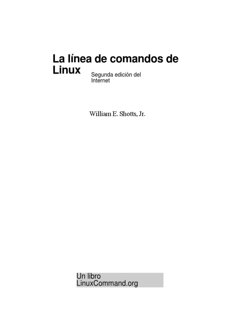 The Linux Command Line.en.Es