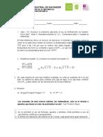 Segundo Parcial Matematicas UIS I_ 2013