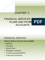 Chapter 5 Financial Services