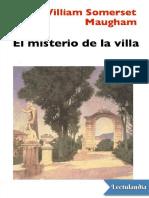 El Misterio de La Villa - William Somerset Maugham