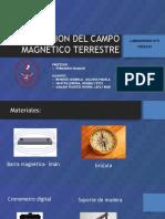 DETERMINACION DEL CAMPO MAGNETICO TERRESTRE