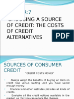 Chapter 7. Consumer Credit