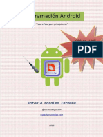 Programación Android Paso a Paso - Antonio Morales Carmona
