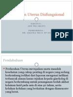 Referat Perdarahan uterus Disfungsional