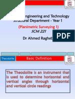 Lecture 5 Theodolite
