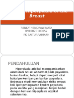 Atypical Hiperplasia of the Breast
