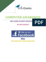 Download SBI Clerk Computer Awareness Pocket Knowledge Here