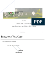 NG40 Test Case Execution