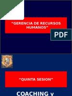 Gerencia de Recursos Humanos - Quinta Sesion - Coaching y Empowerment