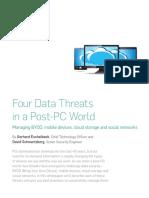 Four Data Threats