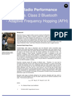 Bluetooth Radio Performance Technical Brief