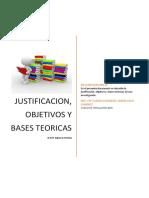 JUSTIFICACION-OBJETIVOS-BASESTEORICAS