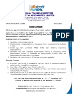 Graduate- Diploma Notification