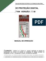 Manual Do Rele Urpe7104