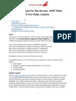 Webcam Streaming Manual