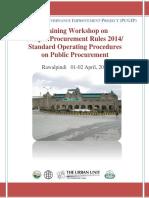 Report of PPRA 2014 Workshop-Rawalpindi.pdf