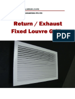 Fixed Louvre Grille
