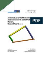 SolidWorks Motion Simulation Student Workbook ENG