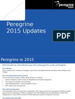 Peregrine Updates 2015 - Happy New Year!