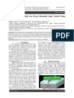 A Noise Tolerant and Low Power Dynamic Logic Circuit Using Finfet Technology