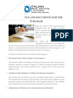 DUE DILIGENCE AND DOCUMENTS FOR THE PURCHASE.pdf