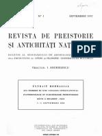 En souvenir d'Alexandre Donici. (I. Andrieșescu). 1937