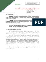 27 - Leitura - Regulagem e Calibracao de Pulverizadores