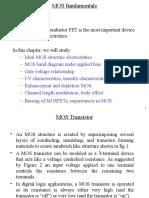 VLSI Unit 1_MOS